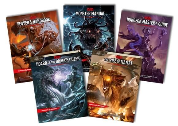 Okładka do podręcznika RPG Dungeons and Dragons